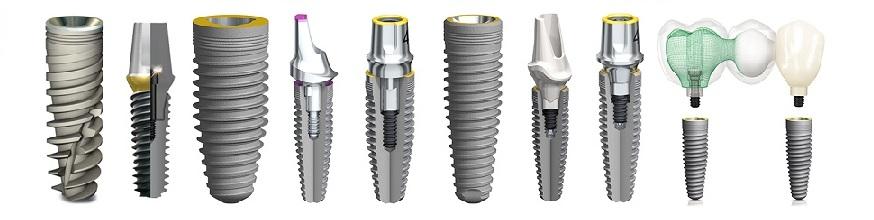 Разновидности зубных имплантов